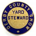 Derbyshire County Show Agricultural Showground Yard Steward badge