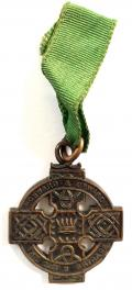 The Girls Brigade in Ireland bronze medal by Hopkins & Hopkins Dublin