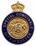 City of Exeter Special Constable Police Constabulary reserve badge
