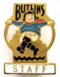 Butlins 1938 Skegness Holiday Camp jolly fisherman Staff badge