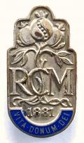 The Royal College of Midwives nurses hospital badge.