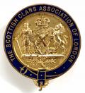 Scottish Clans Association of London membership badge