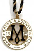 1922 Manchester horse racing club badge