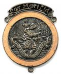 Car Mart Ltd St Christopher motor car dashboard badge