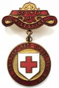British Red Cross Society County of Wiltshire badge