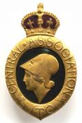 WW1 Central Association of Volunteer Training Corps VTC badge.