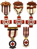 British Red Cross Society Chemical Warfare group of five medals.