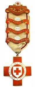 British Red Cross Society Proficiency in First Aid medal