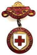British Red Cross Society County of Nottingham badge