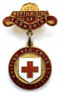 British Red Cross Society County of North Riding of Yorkshire badge