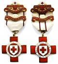 British Red Cross Society Proficiency in Red Cross First Aid Nursing medals