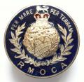 Royal Marines Old Comrades Association lapel badge.