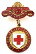 British Red Cross Society County of Hertford badge