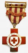 WW1 British Red Cross Society Medical Officer technical medal