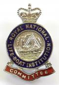 Royal National Lifeboat Institution RNLI committee badge
