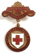 WW1 British Red Cross Society London Camberwell County badge.