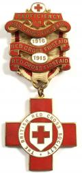 WW1 British Red Cross Society proficiency in first aid medal.