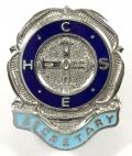 Confederation of Health Service Employees COHSE trade union badge.