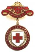 WW1 British Red Cross Society County of Norfolk badge.