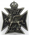 1940-1945 London Transport Home Guard Battalion 46 railway badge.