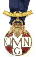 WW1 Queen Marys Needlework Guild surgical branch QMNG badge.