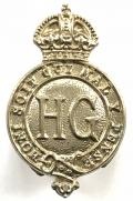 Home Guard c.1953 cold war period official issue buttonhole badge.