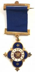 Band of Hope Union Christian Temperance medal.