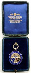 National Cyclists Union Berks Oxon South Bucks 1912 Medal.