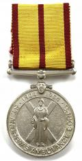 1954 St Andrew's Ambulance Corps 50th anniversary medal