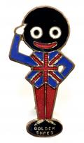 Robertson King George VI 1937 Coronation Golly Union Jack waistcoat badge