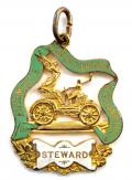 1903 Automobile Club of Great Britain and Ireland stewards badge Dublin made