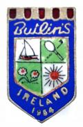 Butlins 1954 Mosney Ireland holiday camp badge