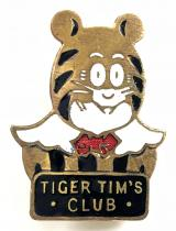 Tiger Tim's weekly comic childrens club membership badge by Collins