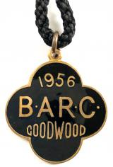 British Automobile Racing Club 1956 BARC Goodwood membership badge