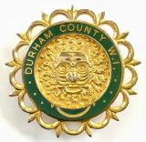 National Federation of Womens Institutes Durham County WI badge