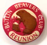 Butlins Beavers Club reunion badge
