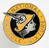 National Benzole Mixture promotional petroliana advertising badge