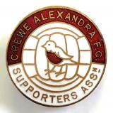 Crewe Alexandra football supporters club badge