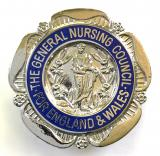 General Nursing Council registered mental nurse RMN badge unnamed