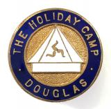 The Holiday Camp Douglas Isle of Man membership lapel badge