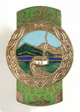 Butlins 1952 Mosney Ireland holiday camp badge