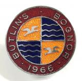 Butlins 1966 Bognor holiday camp badge