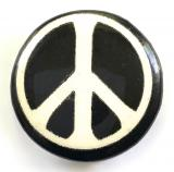 Campaign for Nuclear Disarmament ban the bomb CND activists badge