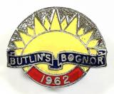 Butlins 1962 Bognor holiday camp badge