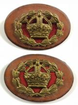 WO 2nd Class Warrant Officer's matching pair of rank badges