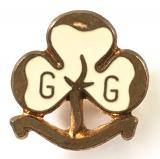 Girl Guides MINIATURE trefoil promise badge