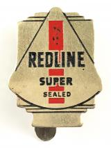 Redline Super 'the engine - clean petrol' advertising badge circa 1930