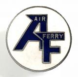 Air Ferry Airline promotional enamel badge by Squire