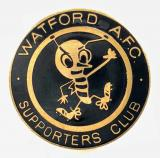 Watford AFC football supporters club badge