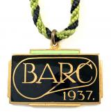 Brooklands Automobile Racing Club BARC 1937 member badge